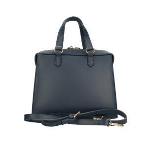 black handmade bag